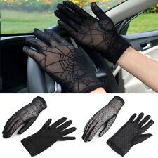 Women Lace Gloves Sun Protection Glove Sunscreen Gloves Lady Summer Wrist Gloves