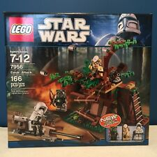 New LEGO 7956 STAR WARS Ewok Attack 3 minifigures RETIRED Tokkat Logray SEALED