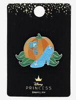 Disney Loungefly Princess Cinderella Slipper Pumpkin Enamel Pin