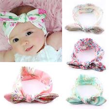 4 pcs Kids Baby Girl Toddler Bowknot Headband Hair Accessorie Band Headwear N8J1
