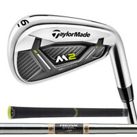New 2019 TaylorMade M2 Irons - Steel Shafts - RH - 4-PW - Choose Your Flex!