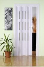 Falttür Schiebetür Nischentür mit 3 Fenster Höhe 202 cm Breite von 88,5-150,5 cm
