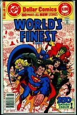 "DC Comics WORLD""S FINEST #250 Wonder Woman Black Canary Green Arrow FN 6.0"