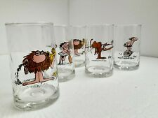 Vintage Arby's BC Ice Age Hart Glass Tumbler 1981 Caveman The Anteater Zot