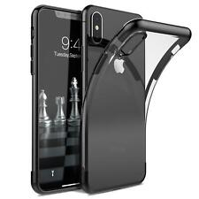 iPhone XS Hülle Schutzhülle Bumper Handy Tasche Slim Cover Case Transparent