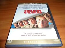 Sneakers (DVD, 2003,Widescreen  Collector's Edition)