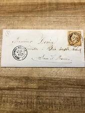LETTRE NAPOLEON III 10 C BRIE COMTE ROBERT 1864