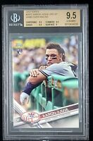 2017 Topps Update SP #287 Aaron Judge RC (Leaning on Railing) BGS GEM MINT 9.5