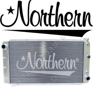 Northern 205067 Aluminum Radiator 82-93 Chevy S10 GMC Jimmy SBC 350 V8 Swap