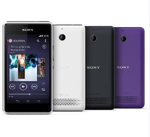 "Original Phone Sony Xperia E1 D2005 4"" 3G WIFI Andriod 3MP Bluetooth GPS Radio"