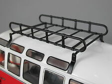 Metal Roof Mount Luggage Cargo Rack for Tamiya 1/10 RC WR02 Volkswagen Bus