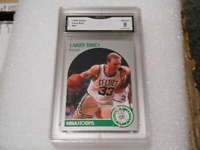 Larry Bird GRADED CARD!! 1990 Hoops #39 Boston Celtics HOFer! 8-1!