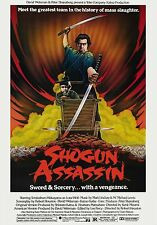 movie film repro shogun assassin  Poster Print A3 This A Poster