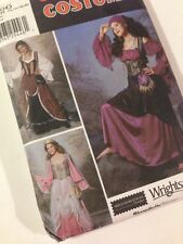 Simplicity 9966 Fortune Teller Costume Tavern Wench Renaissance Lady 14-20