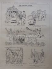 WW1 1916 23rd August THE WAR TIME GARDEN Punch Cartoon