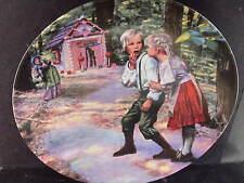 Konigszelt Germany HANSEL UND GRETEL Handsel & Gretel Grimm Ltd Ed Plate MIB