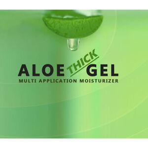 Pure Organic Aloe Vera Gel Soothing Moisturizer Cream Anti Aging Skin Care 8oz