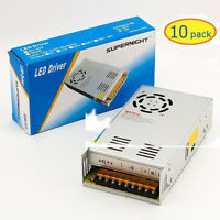 10pcs x Regulated Switching Power Supply DC 12V 30A Fr 5050 3528 LED Strip Light
