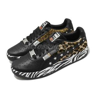 Puma GV Special Zebra X PS Paul Stanley Black Leopard Men Casual Shoes 372753-01