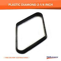 POOL BILLIARDS PLASTIC BLACK 9 BALL QUALITY DIAMOND FREE DELIVERY 2-1/4 INCH