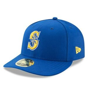 Seattle Mariners New Era Alternate 2 Authentic Collection On-Field Low Profile