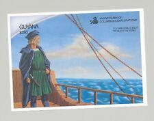 Guyana #2534 Columbus 1v S/S Imperf Proof
