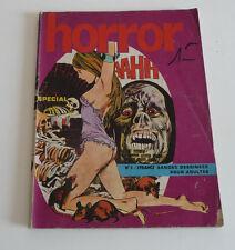 Mag BD Horreur  HORROR     N° 5              jui00