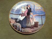 """Franklin Mint Collector Plate """" The Ellis Island Plate"""" H6734"""