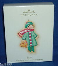 Hallmark Christmas Ornament Mom 2007 Gingerbread Cookie Mother Nib Free Shipping