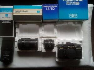 Vintage Collectable Praktica Camera and Lenses