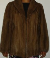 SAGA Top Quality Mink Fur Jacket Size 4-6 Free Shipping EXCELLENT CONDITION