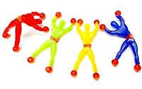 12pc Sticky man birthday party favor pinata bag filler Gift loot gag toys game