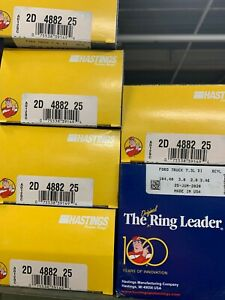 1994-2004 Ford 7.3 7.3L Diesel Piston Ring Set 8 Rings Hastings 2D4882.25MM