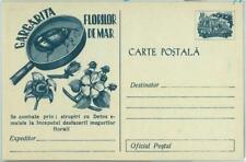 67433 -  ROMANIA  - Postal History - POSTAL STATIONERY CARD:  Flowers, Insects