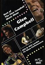 GLEN CAMPBELL New Sealed 2018 LIVE 1970s CONCERT PERFORMANCES DVD