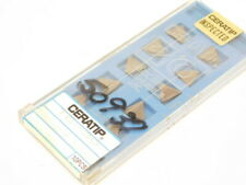 NEW SURPLUS 10PCS. CERATIP  TPGR 222R  GRADE: TC30  CERMET INSERTS