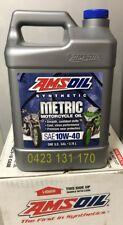 Amsoil 10w-40 motorcycle oil MCF 1 Gallon suits Suzuki Honda Kawasaki KTM MV