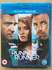 BEN AFFLECK Runner Runner 2013 Gambler apuestas Drama GB BLU-RAY