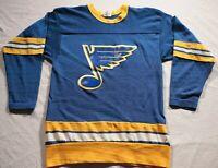 St. Louis Blues True Vintage Rawlings Jersey 1970s 70s NHL Hockey S Sweater