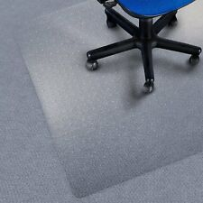 Carpet Floor Office Computer Work Chair Mat Vinyl Protector 1350 x 1140mm