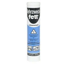 [10 Kartuschen] Mehrzweckfett 400g K2K-30 Universalfett Schmierfett Fettpresse