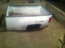 2011 Dually truck box gmc white with bumber, tail gate, wire