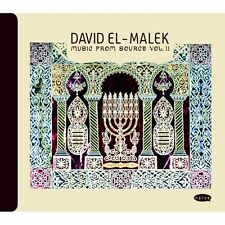 DAVID EL-MALEK - MUSIC FROM SOURCE VOL. II - CD NEUF NEW NEU