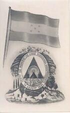 Rppc Honduras Central America Independence Flag Liberty Photograph Post Card