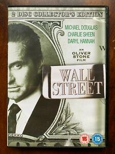 Wall Street DVD 1987 Finance Banking Stock Exchange Drama Movie Classic 2-Discs