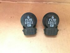 Lot of 2 - Ford F1TZ-13411-E Lamp Socket - F17B-13411-EB -- NEW GENUINE OEM