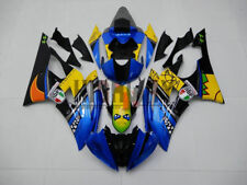 08-16 Fit Yamaha YZF R6 Replica AGV Rossi Misano Blue Shark Fairing Bodywork Kit