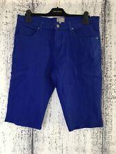 Size 16 Lottie Loves Blue Cropped Denim Jeans