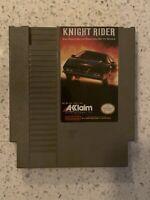 KNIGHT RIDER (Nintendo Entertainment System, 1989) -- KNIGHT RIDER for NES
