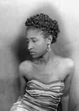 Vintage Photo ... 1930s Jazz Era African Americam Woman ... Photo Print 5x7